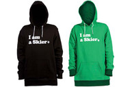 Line I am a Skier Pullover Hoodie 2015