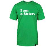Line Skier Forever Tshirt 2015