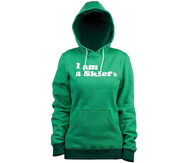Line I am a Skier Women's Pullover Hoodie 2015