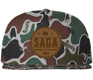 Saga Camp Patch Snapback Hat 2015