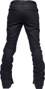 Black Waxed Denim/Back