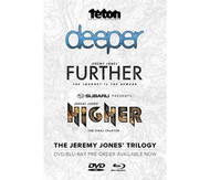 Jeremy Jones Trilogy Snowboard DVD/Bluray Combo Deeper Further Higher 2015