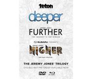 Jeremy Jones Trilogy Snowboard DVD/Bluray Combo Deeper Further Higher 2015