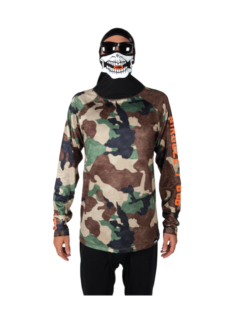 Hunter Canvas Camo Top