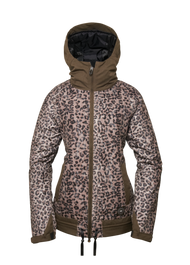 Tobacco Leapard-Lace