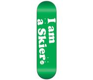 Line I am a Skier Skateboard 2015