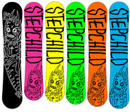 Stepchild Dirtbag Snowboards 2015