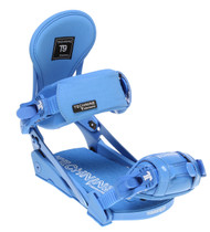 Technine Elements Pro Womens Snowboard Bindings Blue Raz