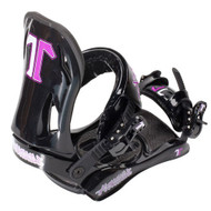 Technine T9 Women's Black Snowboard Bindings 2012