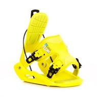 Lime Flow Micron Snowboard Bindings Youth 2013