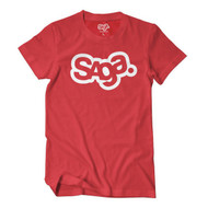 Saga Red OG Logo Graphic Tshirt 2014