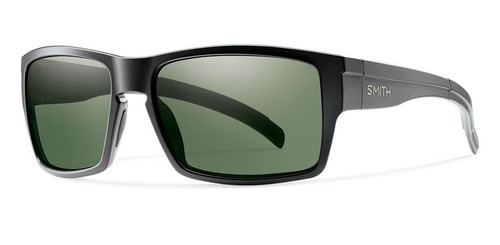 Matte Black w/ Polarized Gray Green