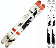 Line Sir Francis Bacon Shorty Youth Skis 2016