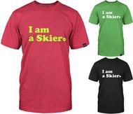 Line Skier Forever Tshirt 2016