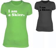 Line Skier Forever Women's Tshirt 2016