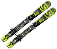 Salomon Q-Max Jr Skis + EZY5 Bindings 2016
