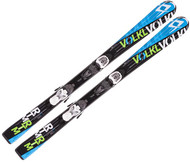 Volkl RTM Jr Skis + 3Motion Jr 4.5 Bindings 2016