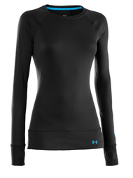 Under Armour UA Base 2.0 Crew Womens Long Underwear Top 2016