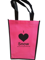 Snow Sugar I ♥ Heart Snow Tote Bag 2016