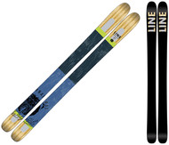 Line Supernatural 108 Skis 2017