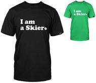 Line I am a Skier Tshirt 2017