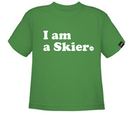 Line I am a Skier Toddler Tshirt 2017