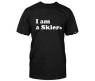 Line I am a Skier Tshirt 2018