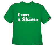 Line I am a Skier Toddler Tshirt 2018