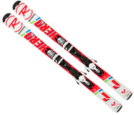 Rossignol Hero Jr Skis + Look Kid-X 4 Bindings 2018