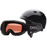 Smith Zoom Jr Helmet + Gambler Goggle Combo 2018