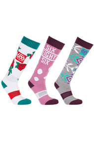 686 Heater Women's Sock 3-Pack 2019