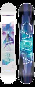 Capita Space Metal Fantasy Women's Snowboard 2019