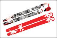 K2 Shane McConkey Tribute Skis 2010