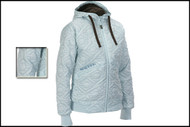 Salomon Quilted Hood Jacket Aqua Tint
