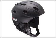 Red Frequency Helmet Black