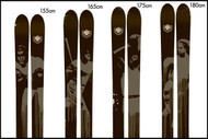 4frnt TNK Skis 2010