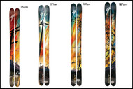 4frnt MSP Skis 2010 Model- 161cm