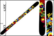 Line Super Hero Skis 2011