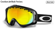 Oakley Crowbars- Jet Black- Fire Lens