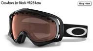 Oakley Crowbars- Jet Black- VR28 Lens