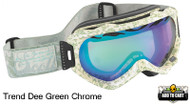 Scott Alibi Trend Dee Goggles Green Chrome
