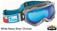 Scott Alibi White Noise Goggles- Silver Chrome
