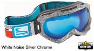 Scott Alibi White Noise Goggles- Silver Chrome