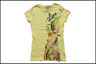 Line Shadow Womens Tshirt