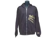 TGR Scribble zip hoodie