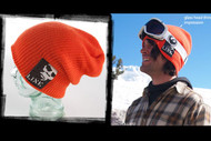 Line Focus Beanie- Orange