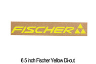 6.5 inch Fischer Yellow Die-cut