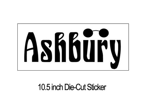 10.5 inch Die-cut Sticker
