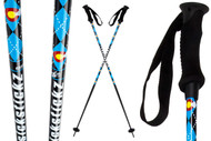 Sickstickz CO Argyle Ski Poles