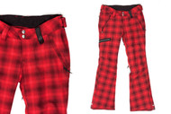 Holden Women's Lennox Pant Red Plaid